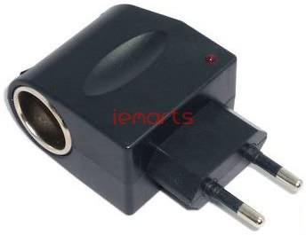 Free-shipping-12V-Car-Charger-Cigar-Cigarette-Lighter-110V-220V-AC-to-12V-DC-EU-Car