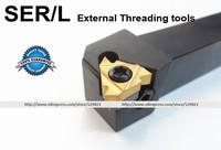 Инструмент для обработки деталей вращения Threading Turning tool holders SER2020K16 External threading toolholder Threaded Holder For SER16 Inserts