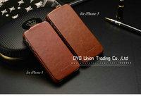 Чехол для для мобильных телефонов Luxury Retro PU leather case for iphone 5 5g DHL Original FASHION Brand, Screen Protector Guard