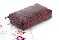 Косметичка 2013 Brand Fashion Purple Stone pattern Cosmetic Bag High quality Storage bag 1 pcs