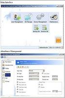 "2.8"" Fingerprint Reader Time Attendance Time recorder TCPIP+RFID Card Read +USB Free Shipping Wholesale#170010"