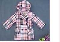 Детская одежда для девочек Autumn winter fashion Children wind coat girl's jacket outwear kids thick wind coat children jacket coat