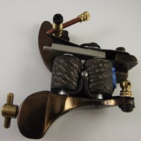 Damascus Tattoo Machine Gun Noiseless Steel Brand New 2010 Hot Selling Custom Available