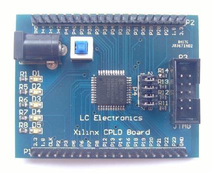 Free Shipping! 1pc Xilinx XC9572XL CPLD development board learning board