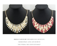 Fashion Costume red jewelry Chokers collar chain necklaceswomen dresses necklacefree shipping