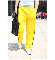 Мужские брюки модельные повседневные брюки фитнес спортивные брюки хлопок/полиэстер 10 цвета штаны размер: l-xl-xxl-xxxl