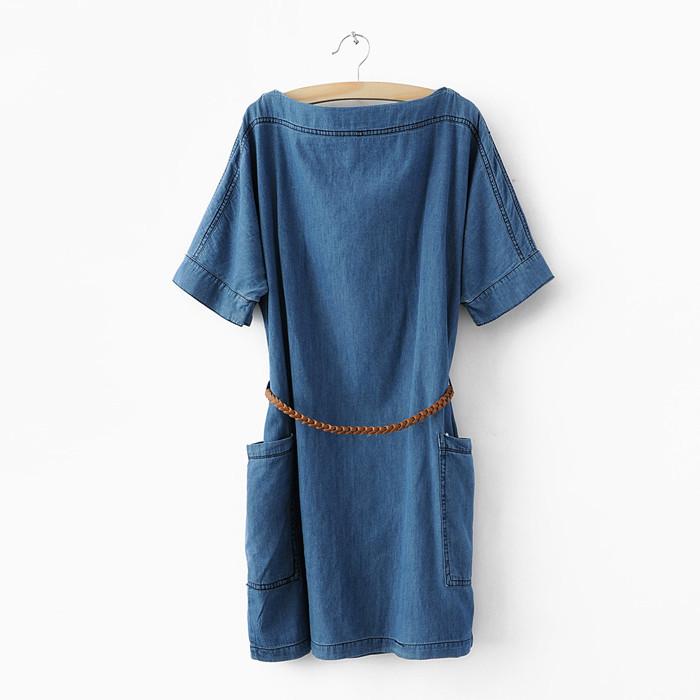 Как сшить джинсовое платье своими