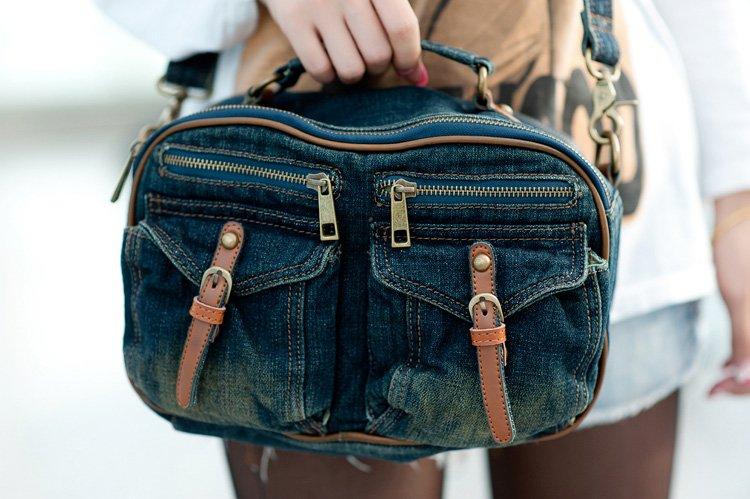Сумки с джинсов своими руками фото