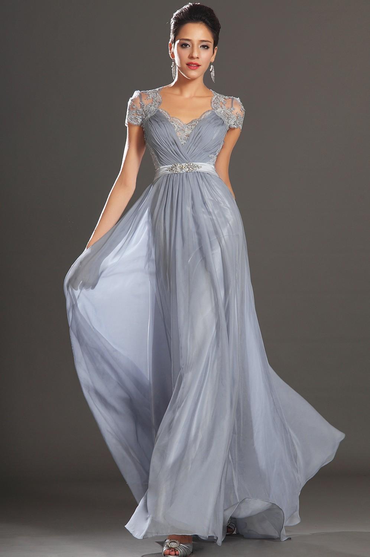 Платья вечерние из шелка