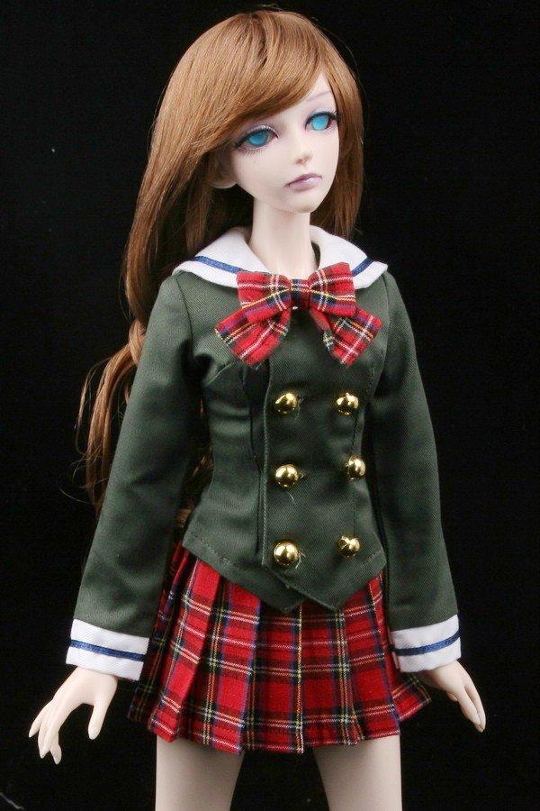Как сделать для куклы школьную форму 427