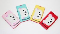 Чехол для планшета Rilakkuma case for samsung galaxy note 2 N7100 protective PU cartoon Case High Quality