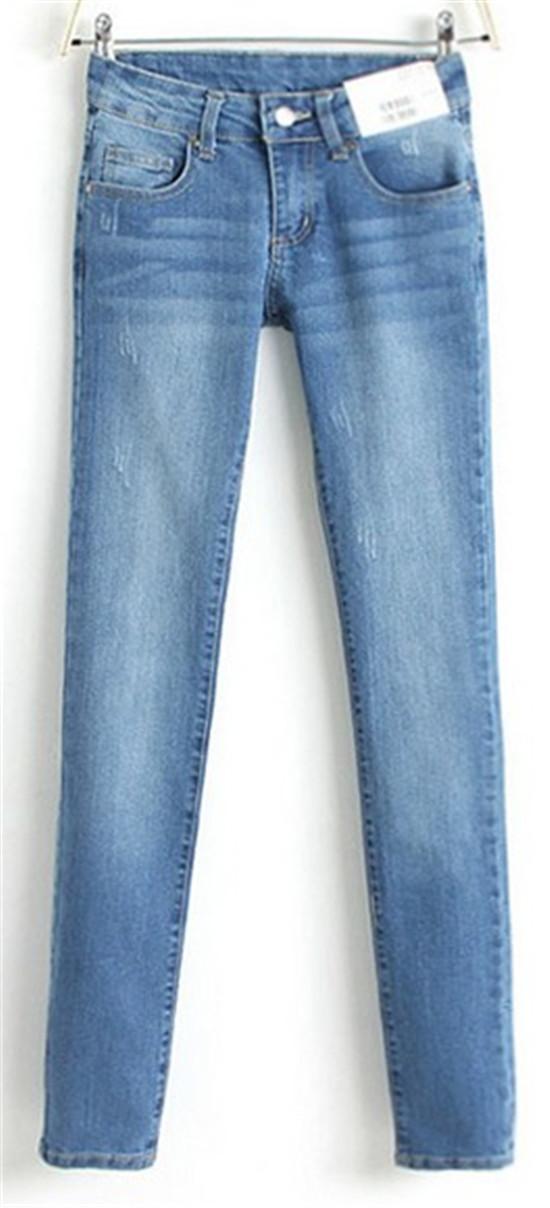 Woman Pencil Jeans Denim Slim Figure Ladies'Sexy Casual Jeans Plus ...