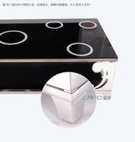 Мебель, продажа нержавеющей стали стекла чайный стол контракт двойной мраморные производители продают чай таблицы
