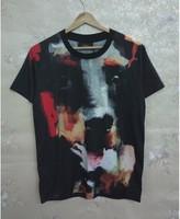 Мужская футболка classic Kobold the vicious dog TEE short-sleeved T-shirt notu1016
