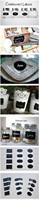 доске ярлык Марк знак МЕМО Примечание доске стены стикер эко виниловых искусства съемных пил палку дома пропуск f016