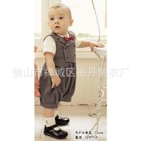 Комплект одежды для мальчиков 5sets/lot 2013 gentleman baby boy clothes set for summer, Cotton kids clothing, baby jumpsuit