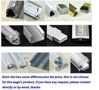 "free shipping by DHL/FedEx,20pcs/lot, ""U"" style, Metal fog cover ,waterproof,smd5050,72leds,5050 led rigid strip lighting"
