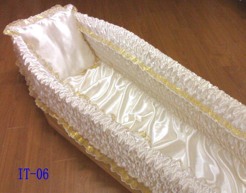 Casket lining,casket interior,coffin interiors