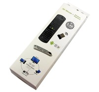 Телеприставка Brand New WIFI 1080P Android 4.0 Mini PC TV Box Media Player + RC11 Air Mouse Keyboard # 160241