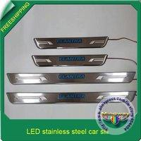 Система освещения 1 SET ELANTRA +LED Car sill/ Stainless steel car threshold/auto parts