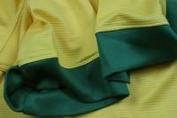 Мужская футболка для футбола 13-14 Brazil #10 KAKA Red Soccer Jerseys, 2013 Brasil Home Soccer Shirts, Thailand Best Original Quality