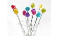 Swizzle палочки  Цветочные мешалки напитки