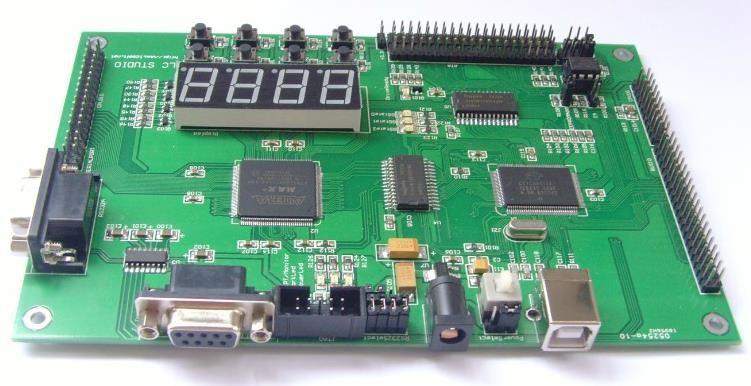 Free Shipping! 1pc CY7C68013 EPM3128 CPLD USB 2.0 development board