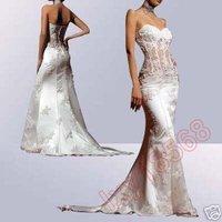 Свадебное платье woman fish tail Custom-Made Wedding Bridesmaid/Prom Dress/Gown