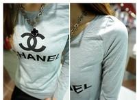 Женская футболка tops women clothing 2013 fashion women t-shirt long sleeve female t shirt