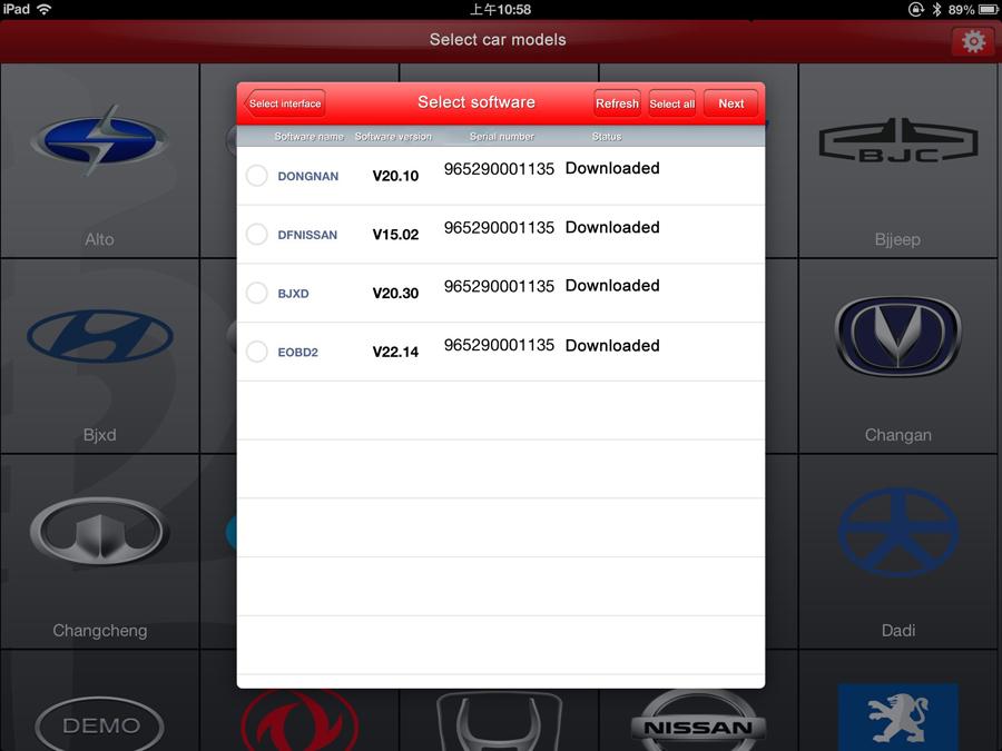 Диагностика авто для iphone programs