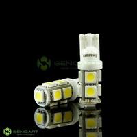 Лампа для чтения T10 194 W5W 6500K 126-Lumen 9-SMD LED Car White Light Bu 2W