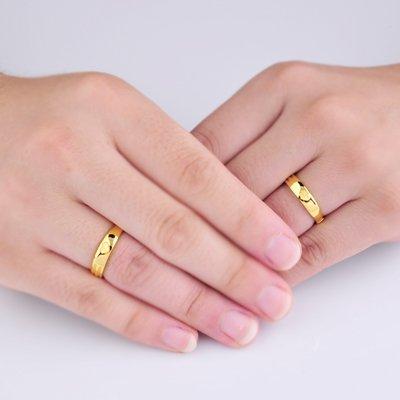 Wedding Rings 24k Gold