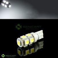 Лампа для чтения T10 194 W5W 6500K 126-Lumen 9-SMD LED Car White Light Bu 2W