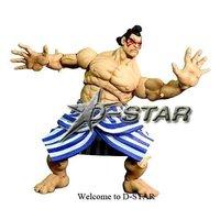 Фигурка героя мультфильма D-star e.Honda Street Fighter 11602
