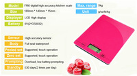 Принадлежности для ванной комнаты Electronic Kitchen scale food scale VKS303-2 Pink