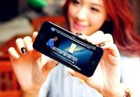 Мобильный телефон 3G Plastic enclosure GOOPHONE I5S 5S ANDROID 4.2 MTK6572 Dual CORE WIFI DUAL CAMERA 1G RAM 16G ROM Smartphone