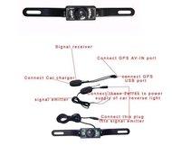 Автомобильный видеорегистратор Factory selling best selling best price WaterProof nightvision wireless rear Camera