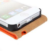 Чехол для для мобильных телефонов Genuine Leather Case for iPhone 5 5S