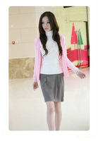 Free Shipping,2012 New Fashion Women's Cardigan Sweater ,17 colors ,best seling casual sweater