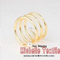 Кольцо для салфеток Metal Wedding Beautiful Decorative Napkin Ring