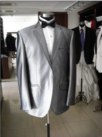 Single-Breasted 1-2 Button Polyester suit
