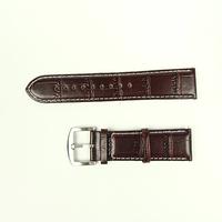 24 мм коричневый кожаный ремешок натуральная кожа смотреть band для женщин мужчин часы