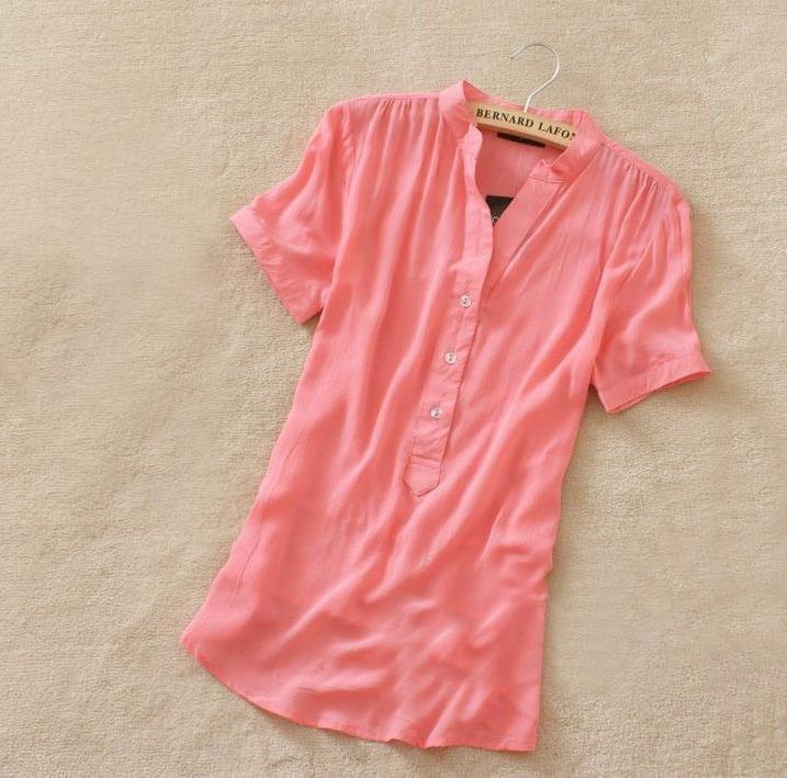 Купить Розовую Блузку В Омске