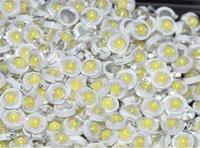 100шт 1w наивысшей мощности СИД прохладный белый 90-110lm 5000k - 8000k высокой мощности привело лампа