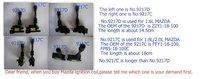 Запчасти для двигателя 01 02 03 04 05 Mazda Miata 1.6 Ignition Coil ZZY1-18-100 9217D