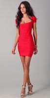 Free Shipping! Hot!!!Women Fashion Red Sexy  Bandage Dress Evening Party Dress