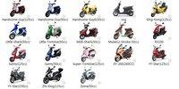 Двигатели и Запчасти для мотоциклов HID headlight High intensity Discharge system scooter parts @88352