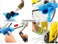 1шт велосипедной цепи чище Велоспорт велосипед машина щетки скруббер мыть комплект альпинист велосипедов цепь чистого инструмент наборы инструментов