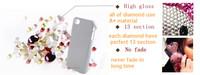 свободный корабль конфеты оболочки bling кристалл чехол для iphone 5 5 g прозрачный роскошь случае использования для swarovski 1шт розничной упаковке