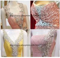 Свадебное платье Stunning sparking real pictures mermaid wedding dresses